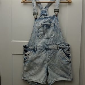 Forever 21 overall shorts